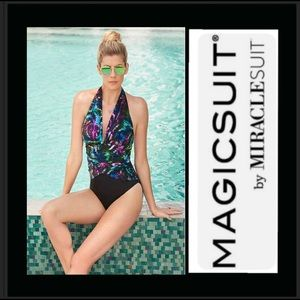 Magicsuit by Miraclesuit swimsuit NWT size 12